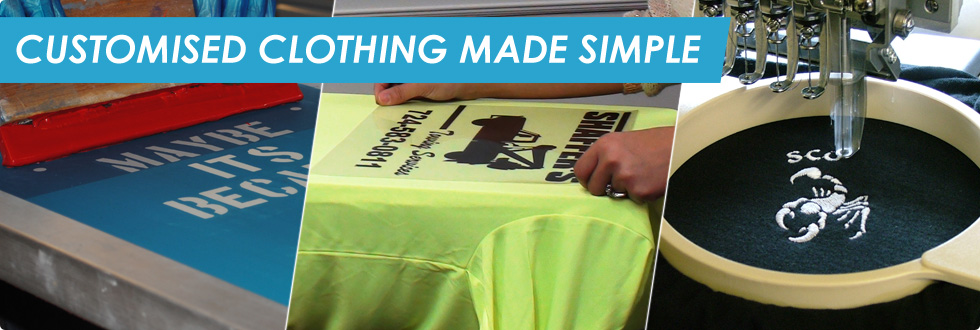 Customised Clothing Made Simple