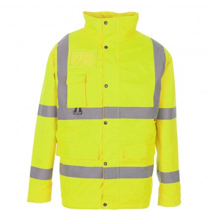 Supertouch Hi Vis Breathable Jacket