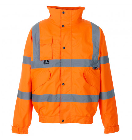 Supertouch Hi Vis Breathable 2 in 1 Bomber Jacket