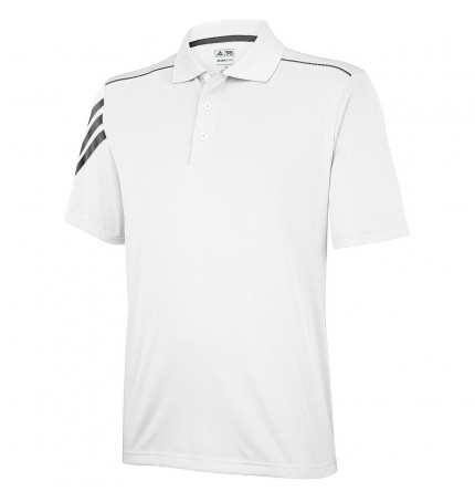 size 40 30aa8 dfb76 Adidas Climacool® 3 Stripe Polo Shirt | Brandable Clothing