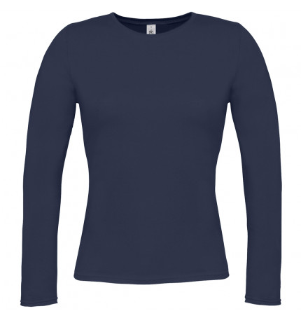 B&C Women Only Long Sleeve T-Shirt