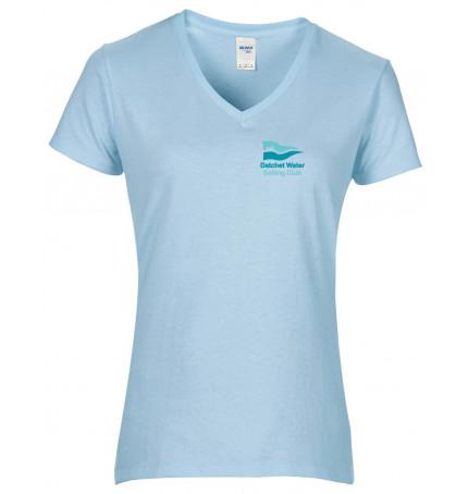 DWSC Gildan Premium Cotton V-Neck T-shirt