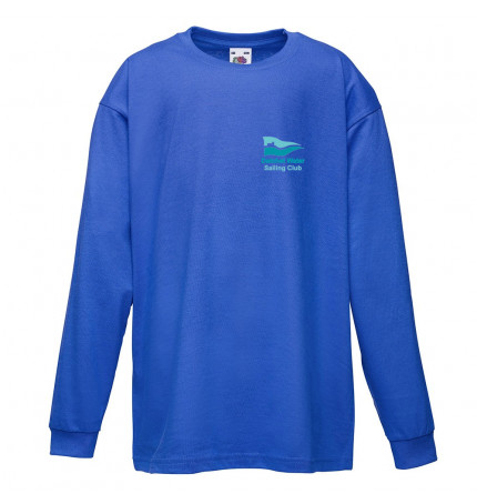 DWSC Fruit of the Loom Kids Long Sleeve Valueweight Tee