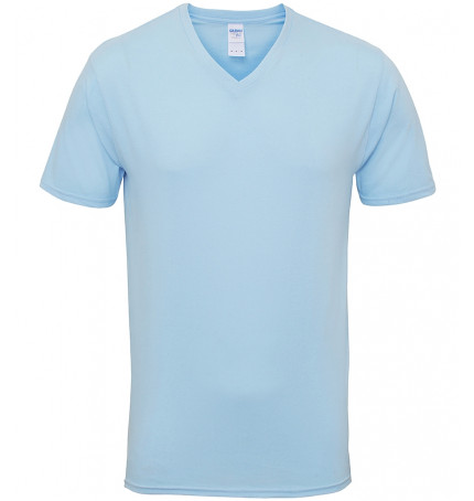 Gildan Premium Cotton Adult V-Neck T-Shirt