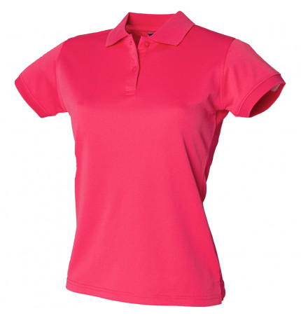 Henbury Women's Coolplus® Polo Shirt