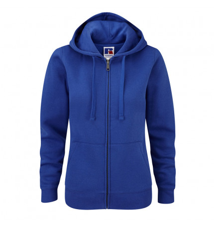 Russell Womens Authentic Zipped Hooded
