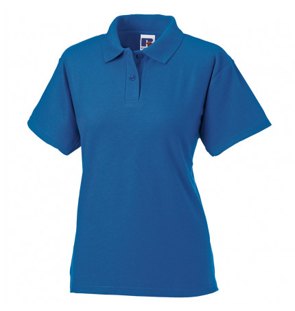 Russell Women's Classic Poly Cotton Polo Shirt