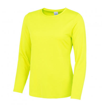 AWDis Girlie Long Sleeve Cool T-Shirt