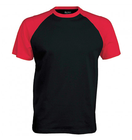 Kariban Short Sleeve Baseball T-Shirt