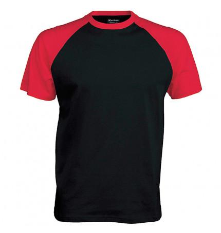 Kariban Short Sleeve Baseball T-Shirt