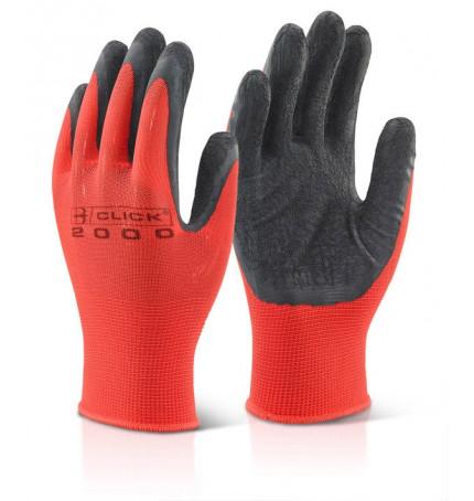 Click 2000 Multi-Purpose Black Latex Gloves
