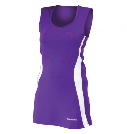 Womens Gilbert Eclipse Netball Dress