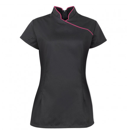 Alexandra Stand Collar Beauty Tunic