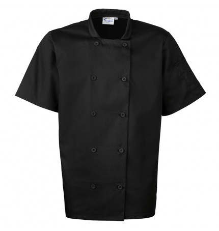 Premier Short Sleeved Chef Jacket