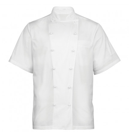 Premier 'Ambassador' Short Sleeve Chef Jacket