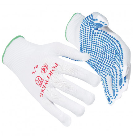 Portwest Nylon Polka Dot Glove