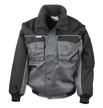 Result Work-Guard Zip Sleeve Heavy Duty Pilot Jacket