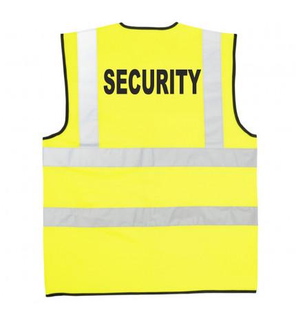 Supertouch Hi Vis Security Vest