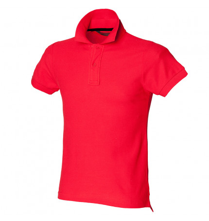 SkinniFit Club Polo With Stay-Up Collar