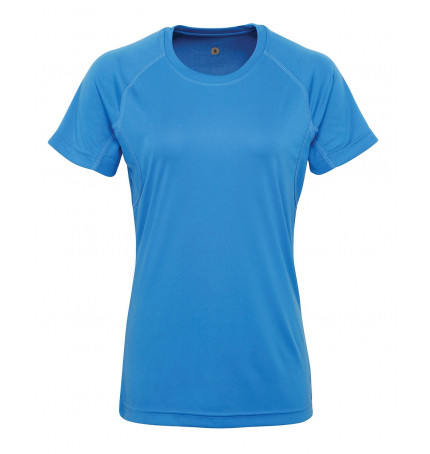 Women's TriDri® panelled tech tee