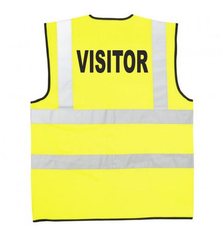 Supertouch Hi Vis Visitor Vest
