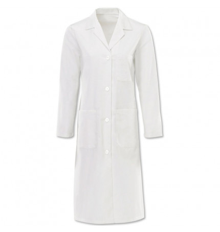 Alexandra Women's Button Lab Coat