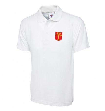 Trevelyan White Polo Shirt