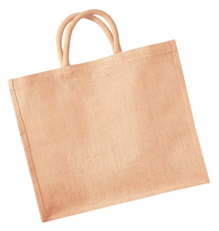 Westford Mill Jumbo Jute Shopper Bag