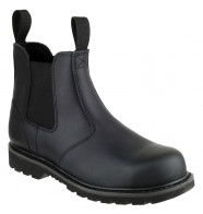 Amblers Steel Welted Slip On Safety Boots