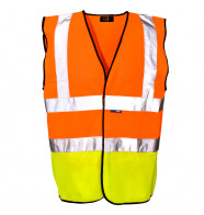 Supertouch Hi Vis Two Tone Vest