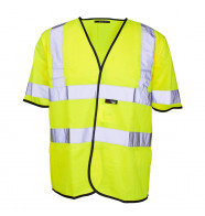 Supertouch Hi Vis Short Sleeved Vest