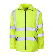 Supertouch Hi Vis Micro Fleece Jacket