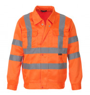 Supertouch Hi Vis Polycotton Jacket