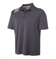 Adidas Climacool® 3-Stripe Solid Polo Shirt
