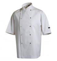 Denny's Chef Jacket Short Sleeve Press Stud