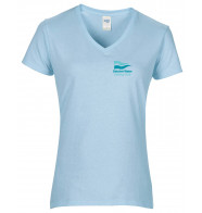 DWSC Gildan Premium Cotton V-Neck T-shirt