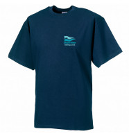 DWSC Russell Super Heavyweight Ringspun T-Shirt