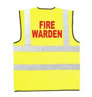 Supertouch Hi Vis Fire Warden Vest