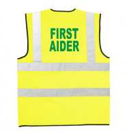 Supertouch Hi Vis First Aider Vest