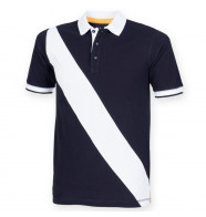 Front Row Diagonal Stripe House Polo Shirt