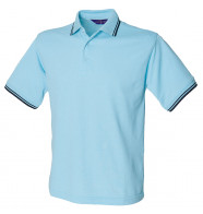 Henbury 65/35 Tipped Polo Shirt