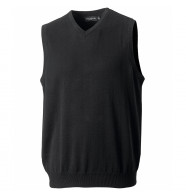 Russell V-Neck Sleeveless Knitted Sweater