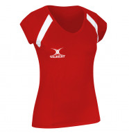 Womens Gilbert Helix Netball Top