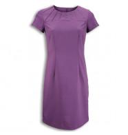 Alexandra Satin Trim Dress