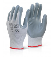 Click 2000 Nitrile Foam Nylon Gloves