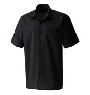 Premier Roll Sleeve Poplin Shirt