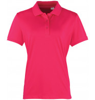 Premier Womens Coolchecker Pique Polo Shirt