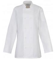 Premier Women's Long Sleeve Chef's Jacket