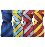 Premier Wide Stripes Tie
