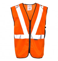 Supertouch Hi Vis Polycotton Long Tracker Vest